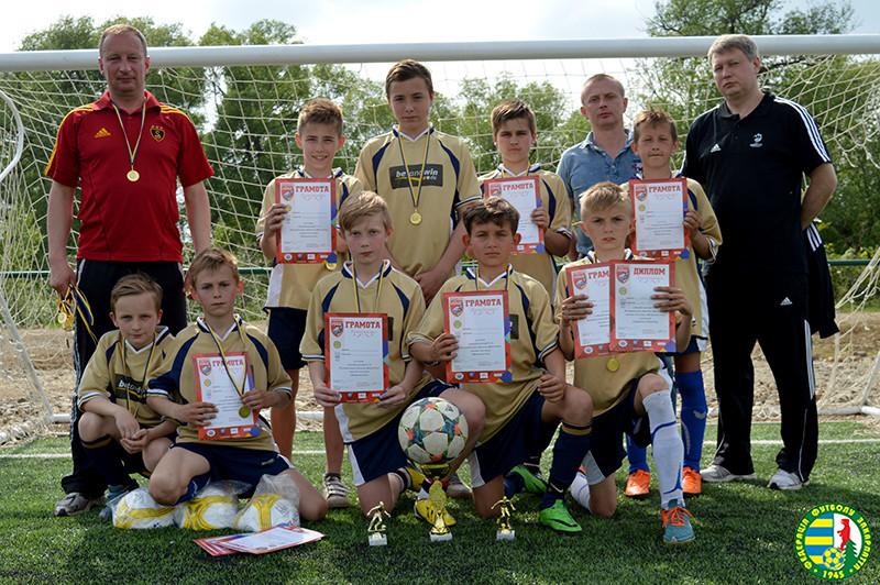Футбольна команда Перечина перемогла на Всеукраїнського турніру