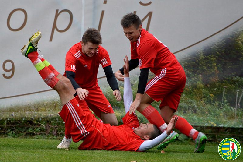 Юних футболістів з Дубового переграли представники Мукачівщини