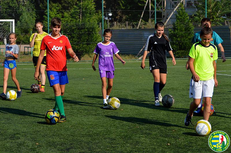 тренування дівчат